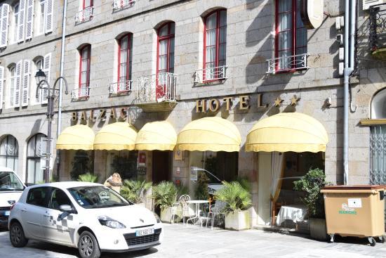 Balzac Hotel : vue de la rue