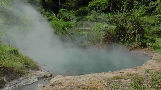 North Sulawesi, Ινδονησία: マナドト/ラゲット源泉湖・テンパン  Manado/ TENPANG at TORAGET HOT SPRINGS
