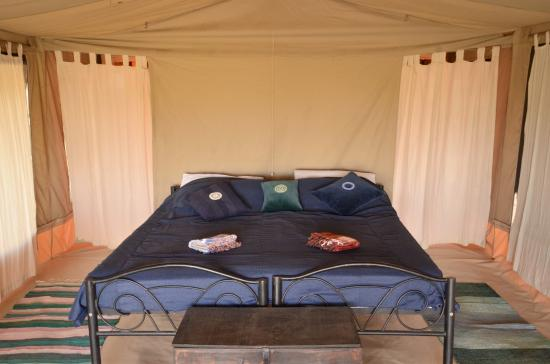 Ngare Sero Lake Natron Camp Double Bed In One Of The Rooms Free