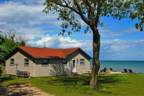 Jacksonport, WI: Cottage 8 - Outside View