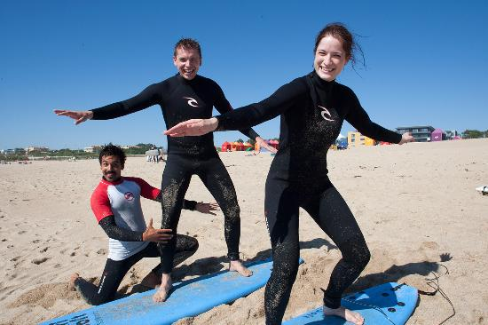 Surfing Porto