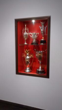 Arsenal Stadium Tours Museum Current Trophies
