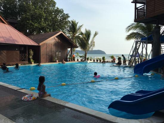view from beachfront chalet picture of malibest resort langkawi tripadvisor