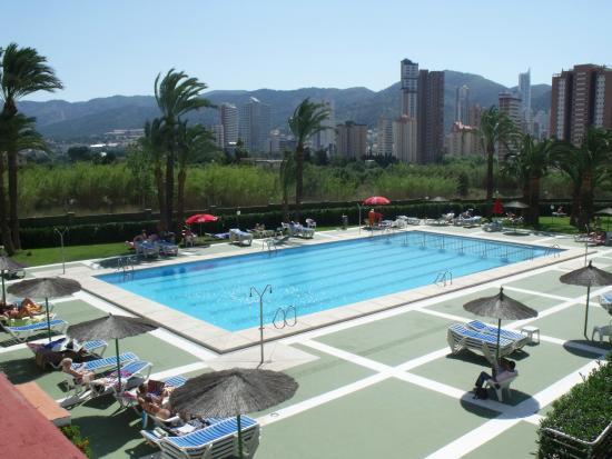 Hotel Caballo de Oro: Piscina