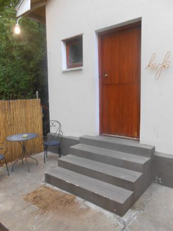 "The LemonTree House: Entrance to ""herfs"""