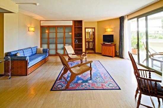 Soggiorno - Living Room - Picture of Hotel Villa Undulna Terme della ...