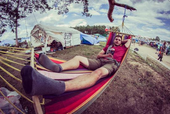 Kostrzyn nad Odra, Polen: Pole namiotowe jest bezpłatne // Camping is for free