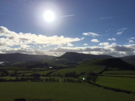 Tavnaghoney Cottages: Lurig Mountain