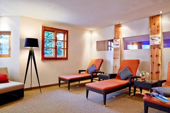 Hotel Tirol: Wellness-Ruhebereich