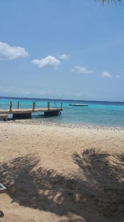 Quiet tranquil beach