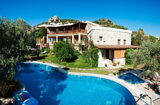 Sandima 37 Hotel Bodrum: Sandima 37 Poolside View