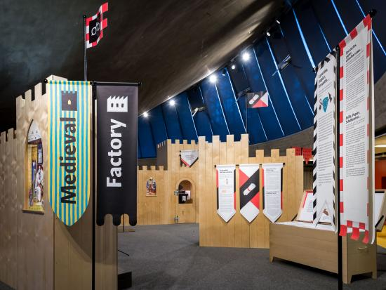 Espace des Inventions : Exposition Medieval Factory