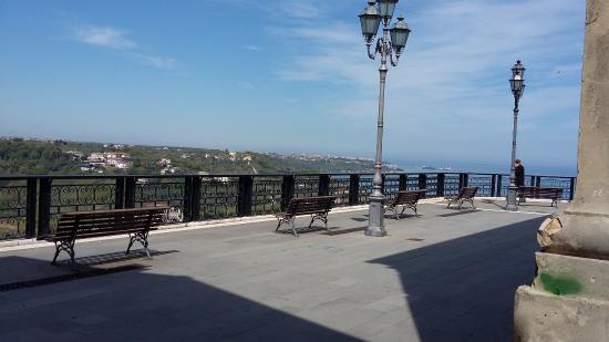 San Vito Chietino, Itália: belvedere e panorama