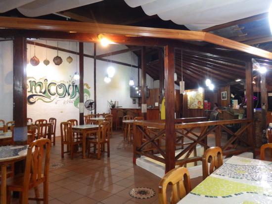 Miconia: salle de restauration