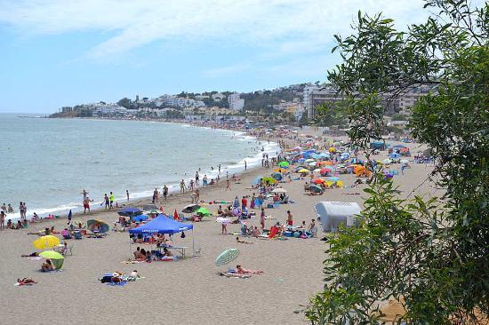 The Beach in La Cala de Mijas Picture of Playa de la Cala Mijas