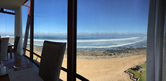 Beach Lodge Swakopmund: View from breakfast room