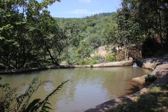 Piggs Peak, Swaziland: Natural pool on trail 1