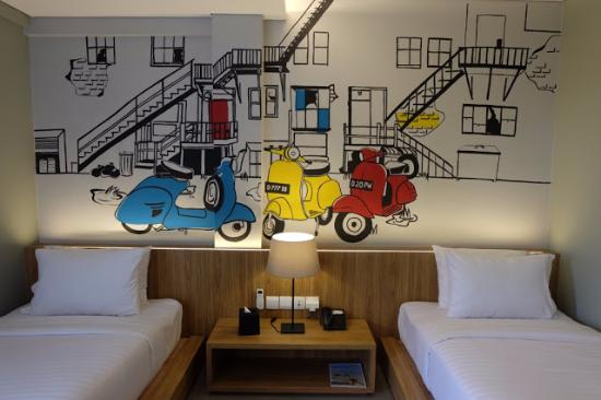 pop art room picture of triple seven hotel bandung tripadvisor rh tripadvisor co nz
