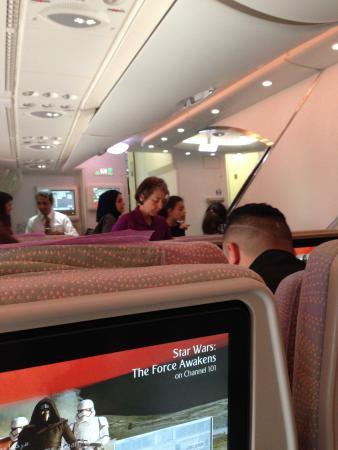 Intérieur de l\'A380 - Picture of Emirates, World - TripAdvisor