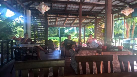 Pondok Keladi Guest House: Communal chillout area
