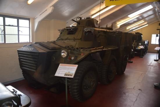 Saladin armoured car - Picture of The Muckleburgh Military
