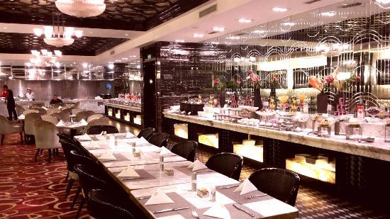 Celebrity City Hotel: The breakfast area