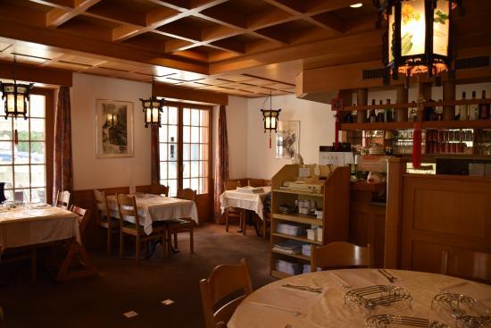 Maennedorf, Suiza: Restaurant innen