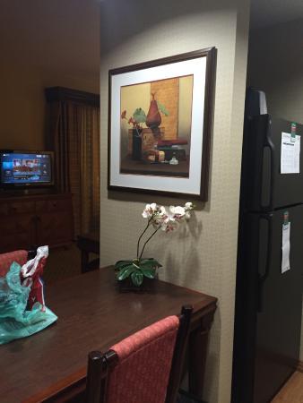 Homewood Suites Miami-Airport West: mesa da cozinha
