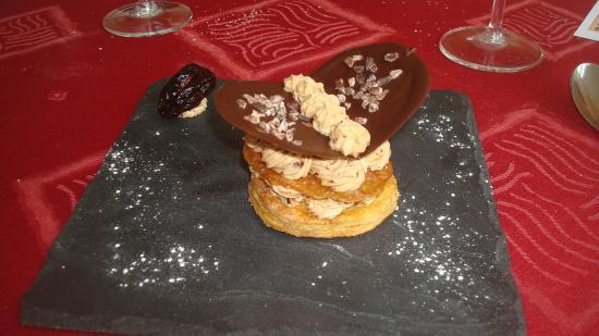 La Sauvetat sur Lede, Γαλλία: Millefeuille de caramel
