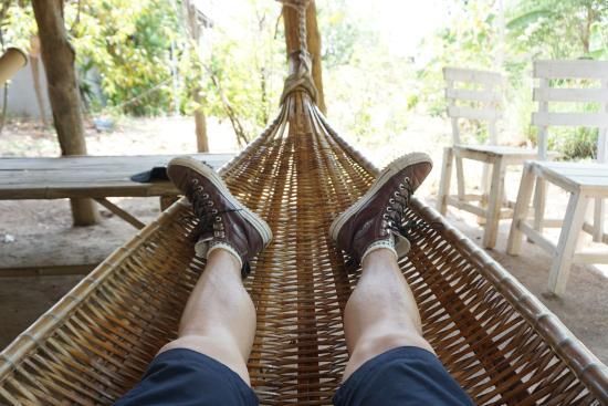 the land split  chilling in the bamboo hammock chilling in the bamboo hammock   picture of the land split pai      rh   tripadvisor