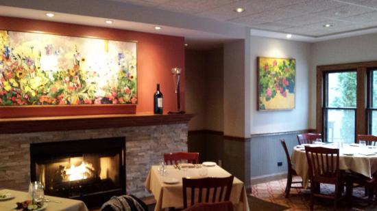 nice fireplace art work picture of duneland beach inn michigan rh tripadvisor com