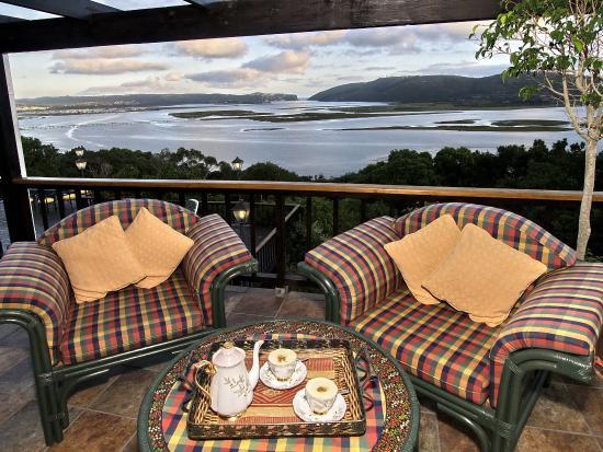 Villa Mulligan: view from the balcony