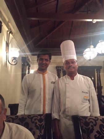 Chef Ganesha nd Bhoopathy