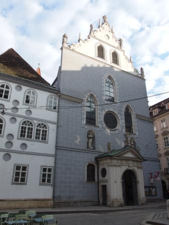 Franziskanerkirche: Фасад