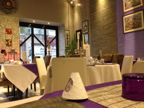 Salon Picture Of Davisto Restaurant Italien Nice Tripadvisor