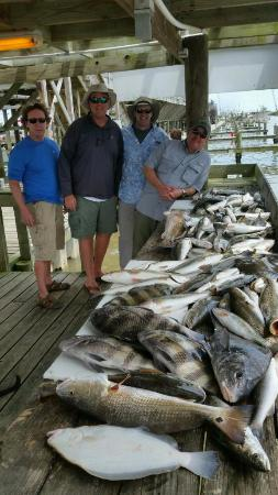 Port Sulphur, Luizjana: Great day of fishing just down the road