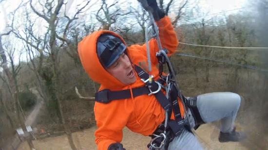 Vale of Glamorgan, UK: Adrenaline fuelled fun at Tree Top Challenge, Barry.