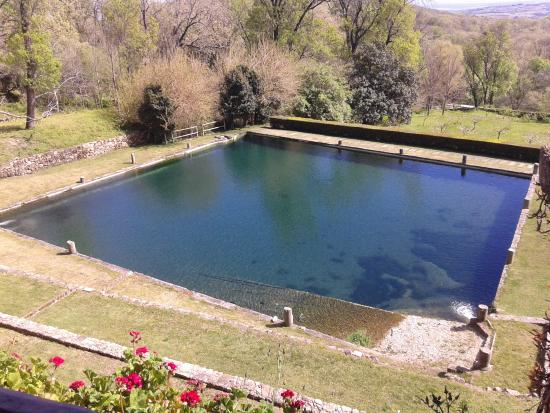 monasterio de san jeronimo de yuste estanque
