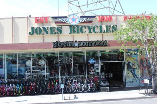 ‪Jones Bicycles and Skateboards‬