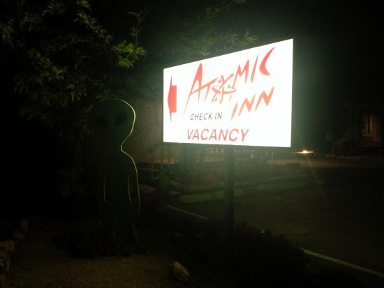 The Atomic Inn: outside