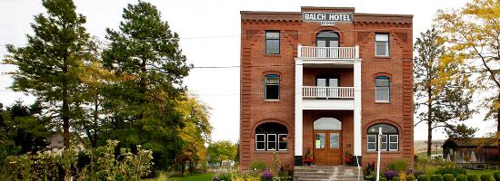 The Historic Balch Hotel, a Dufur icon