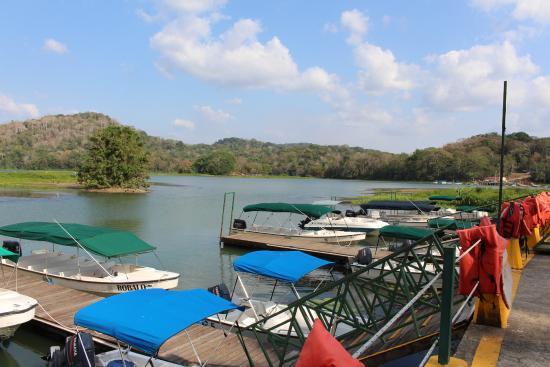 Gamboa Rainforest Resort Chagres River Boat Tour: Marina de départ Gamboa resort