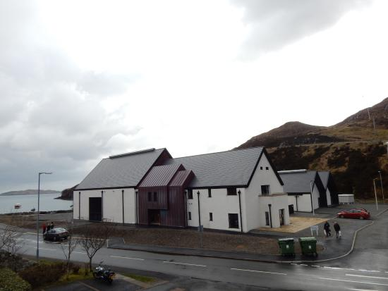 Tarbert, UK: Viewed from up the hill
