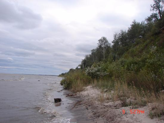 Fischer Creek State Recreation Area: Lake Michigan shore