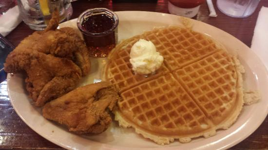 chicken amp waffle picture of roscoes house of chicken