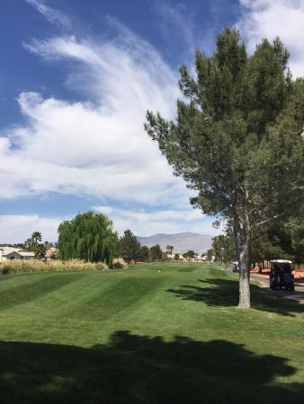 Los Prados Golf Course: Tee do buraco 1