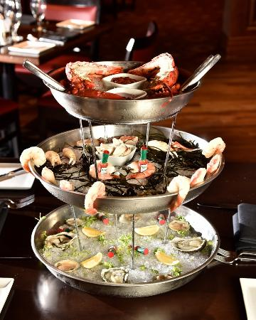 Chester, PA: seafood tower