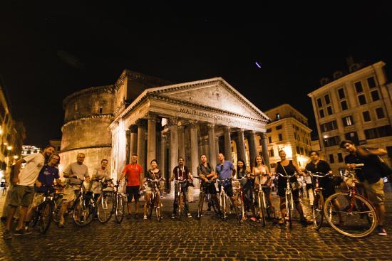 罗马免费骑行游