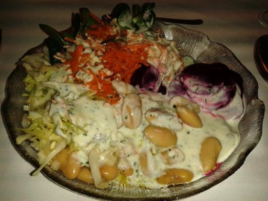 Sporthotel Rasen: Dal buffet di verdure