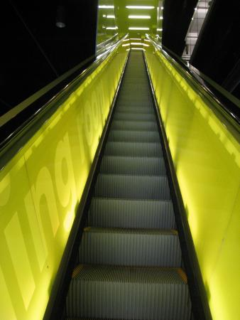 Seattle Public Library: One Of Two Sets Of Stairs At The Library. Gorgeous